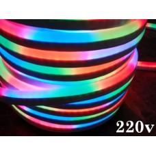 Furtun LED Neon Flex 220V RGB Segmente
