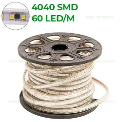 Banda LED 4040 60 SMD/ML Furtun Silicon 220V