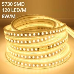 Banda LED 5730 120 SMD/ML 220V