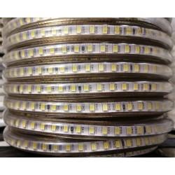 Banda LED 5730 120 SMD/ML Furtun Silicon 220V Super Bright