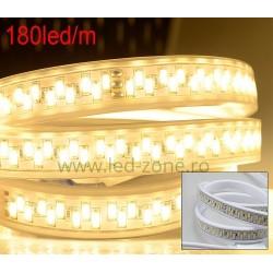 Banda LED 5730 180 SMD/ML Furtun Silicon 220V