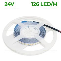 Banda LED 2835 126 SMD/ML Interior 24V