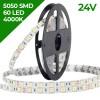 Banda LED 5050 60 SMD/ML Interior 24V Alb Natural