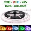 Banda LED COB 840 LED/ML RGB Interior 24V