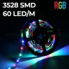 Kit Banda LED 3528 Rola 5m RGB Interior Telecomanda