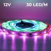 Banda LED 5050 30 SMD Interior Digitala