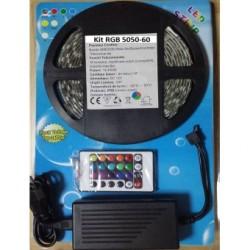 Kit Banda LED 5050 Rola 5ml RGB Interior, Telecomanda