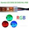 Banda LED 5050 30 SMD/ML RGB Submersibila
