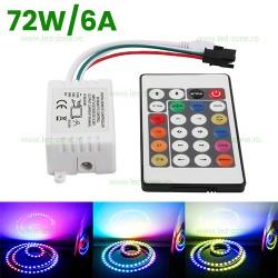 Controller Banda LED RGB Digitala 6A 72W
