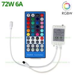 Controller Banda LED RGBW 6A 72W IR