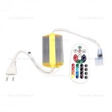Controller Neon Flex RGB 220V Telecomanda Alba IP65
