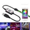 Mini Controller Banda LED RGB 12A 144W 5V Bluetooth