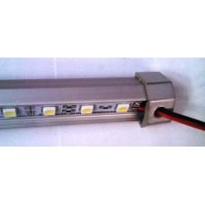 Profil Aluminiu Banda LED 60xSMD5050 Inclusa 2 Directii