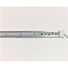 Profil Aluminiu Banda LED 60xSMD5730 Aplicat 220V