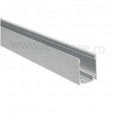 Profil Aluminiu Montaj Neon Flex Slim