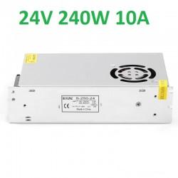Sursa Alimentare Banda LED 24V 240W Carcasa Metal