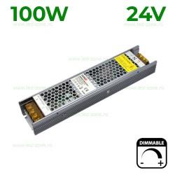 Sursa Alimentare Banda LED 24V 100W Slim Dimabila TRIAC