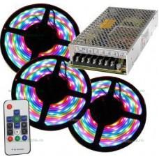 Kit Banda 60 SMD/ML Silicon Digitala 15M cu Telecomanda