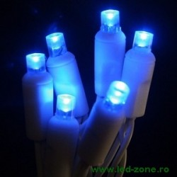 Instalatie Pom Craciun 100 LED-uri Exterior Flash Fir Alb