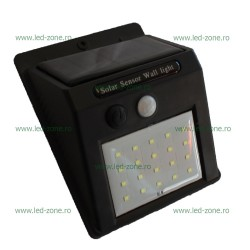 Lampa LED Exterior 20 SMD Solara Senzor