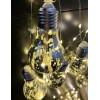 Instalatie LED Ghirlanda 10 Becuri A60 Marmorat Diverse Culori