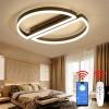 Lustra LED 100W 3 Functii Dimabila cu Telecomanda sau Telefon LZ5199-500