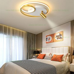 Lustra LED Moderna 35W 3 Functii Dimabila cu Telecomanda LZ1050-1