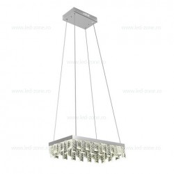 Lustra LED 24W 1 Segment Model Cristal NIRVANA