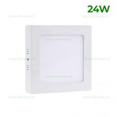 Panou LED 24W 30x30cm Aplicat Alb