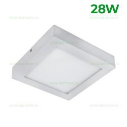 Panou LED 28W 30x30cm Aplicat Alb