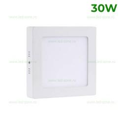 Panou LED 30W 30x30cm Aplicat Alb