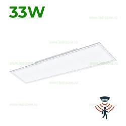 Panou LED 33W 120x30cm Alb Senzor de Miscare