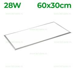 Panou LED 28W 60x30cm Ultra Slim Argintiu