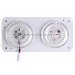 Kit LED Plafoniera 24W Magnet