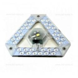Kit LED Plafoniera 18W Triunghi