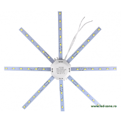 Kit LED Plafoniera 24W Stea