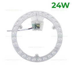 Kit LED Plafoniera 24W Rotunda SMD2835