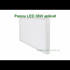 Panou LED 36W 60x30cm Aplicat Alb