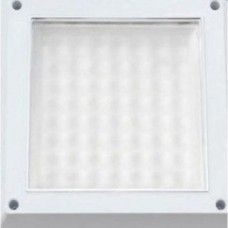Plafoniera LED 8W Patrata Dispersor Mat