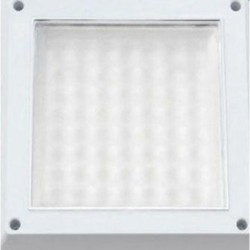 Plafoniera LED 12W Patrata Dispersor Mat