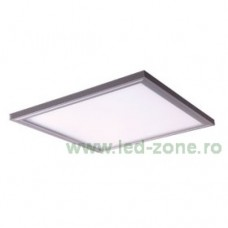 Panou LED 48W 60x60cm Aplicat Argintiu LZ01