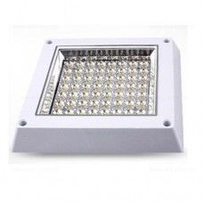 Plafoniera LED 8W Patrata Dispersor Clar