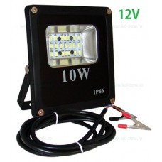 Proiector LED 10W Slim SMD 12V Alimentare Clesti