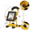 Proiector LED 10W Slim Acumulator si Suport
