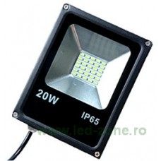 Proiector LED 20W Slim SMD 5730