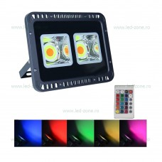 Proiector LED 100W 220V RGB Telecomanda 2 Module