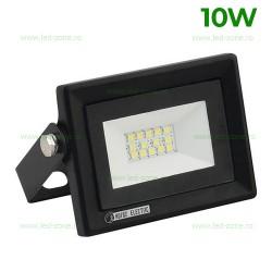 Proiector LED 10W Slim Negru PARS