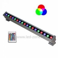 Proiector LED 18W 220V Liniar 50cm RGB Telecomanda