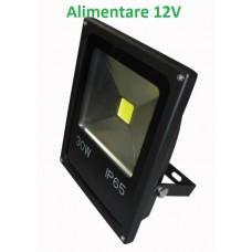 Proiector LED 30W 12V Slim