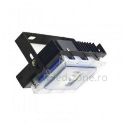 Proiector LED 30W 220V Slim Negru New Design